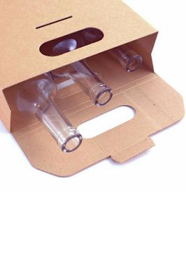 Existen distintos modelos de cajas para botellas.