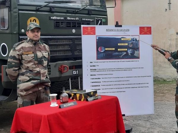 Special Army Team Develops a Special Integrated Vehicle Safety System for Safety of Army Trucks /2019/12/Special-Army-Team-Develops-a-Special-Integrated-Vehicle-Safety-System-for-Safety-of-Army-Trucks.html