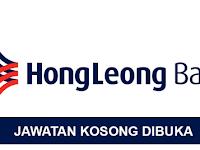 Jawatan Kosong di Hong Leong Bank Berhad