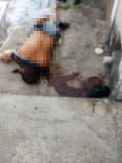 Homem de 36 anos é morto a tiros no bairro Alagoinhas Velha