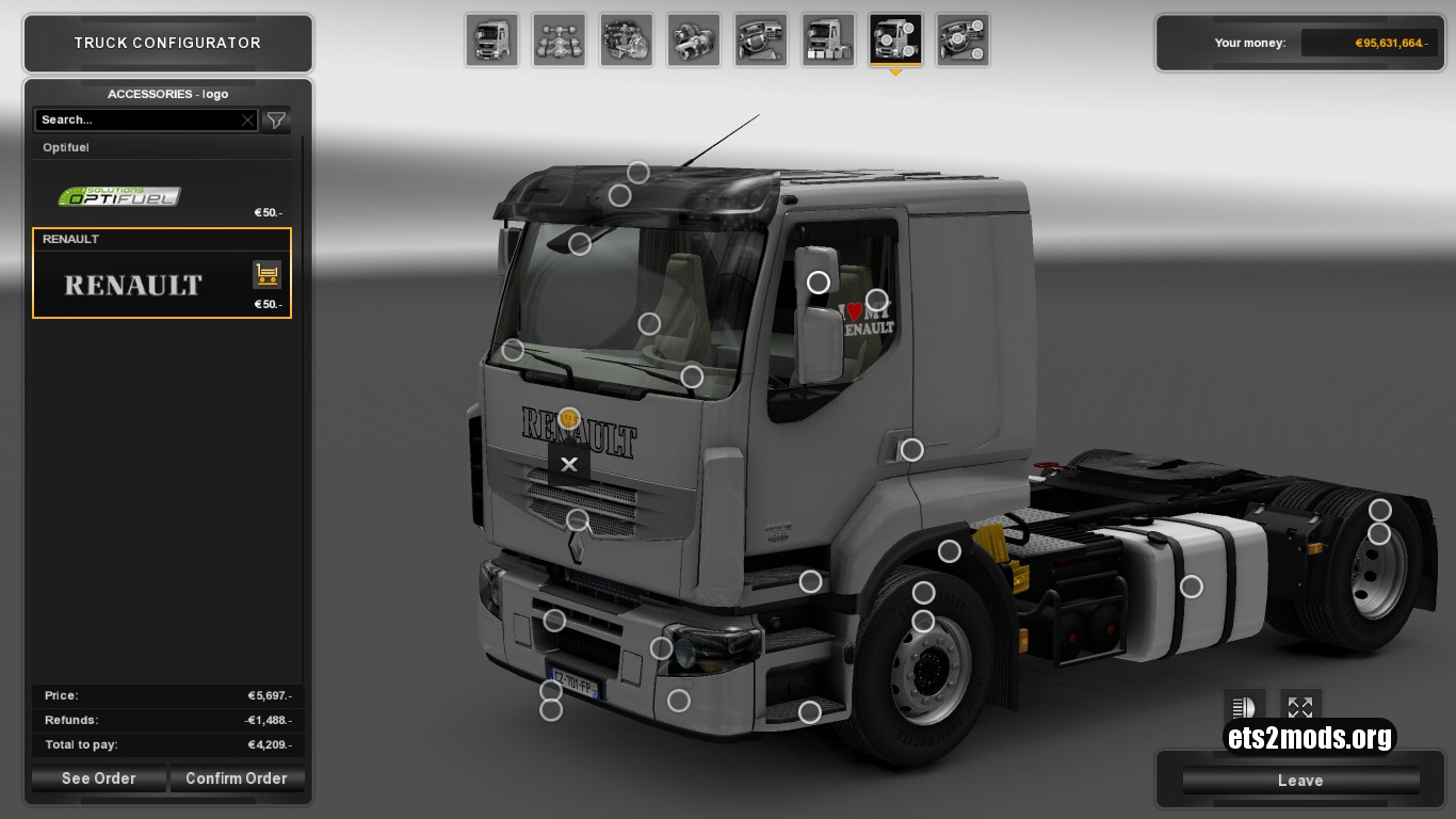 Renault Premium Reworked Mod 3.6