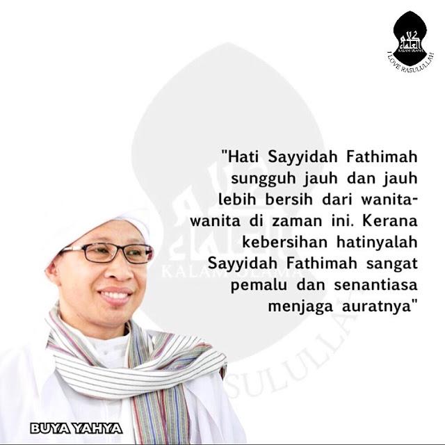 Kata Mutiara Nasehat Dari BUYA YAHYA Untuk Para Muslimah