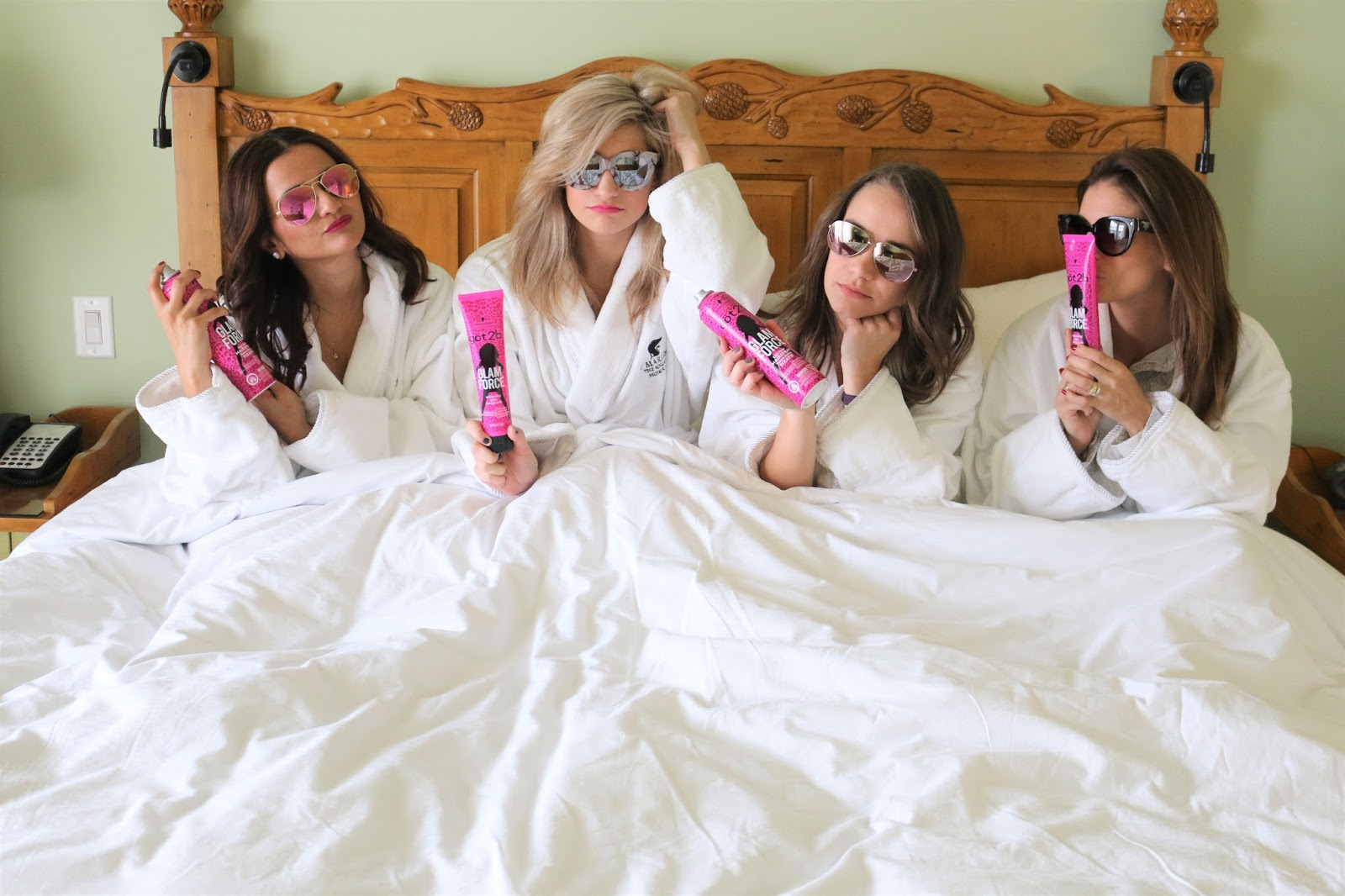 Bijuleni - 3 Things to Pack for a Girls Trip in the Fall - Hair products - Friendship goals
