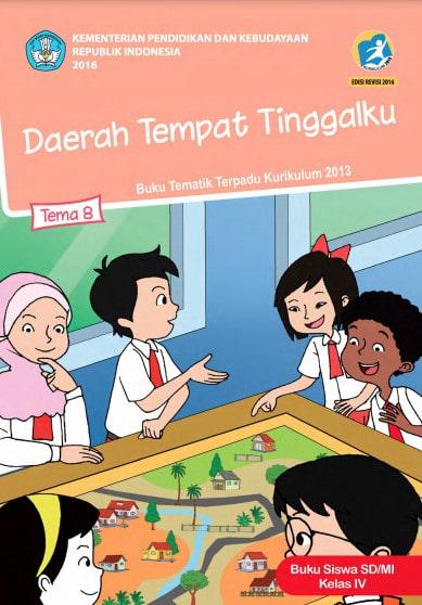 Buku Siswa Kelas 4 Tema 8 Revisi 2017 Kurikulum 2013