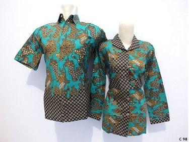 Model Baju Batik Kantor Terbaru Modern