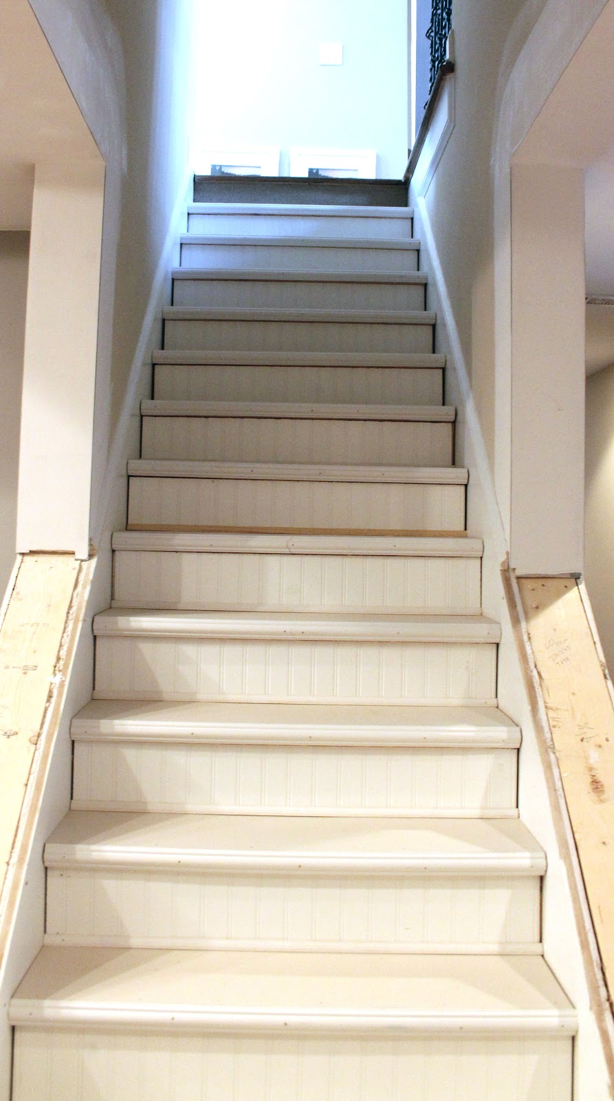 My Enroute Life *Gly Basement Stairs Update | Adding Stairs To Basement