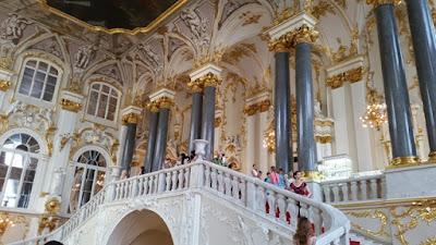 Escaleras del Palacio de Invierno