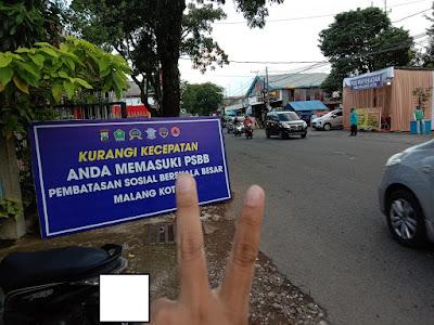 Pos PSBB Kota Malang