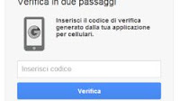 Siti / app dove attivare la verifica in due passaggi della password