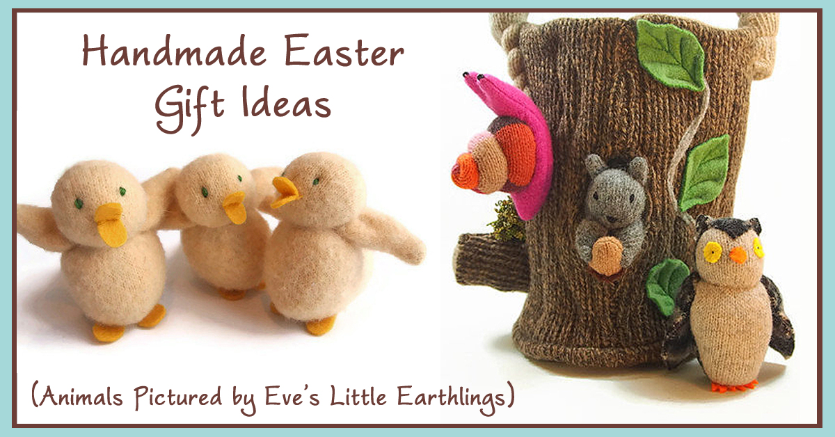 The mindful home handmade easter basket gift ideas handmade easter basket gift ideas as an avid gardener i am always thrilled to welcome spring in our household we tend to focus our easter celebration on negle Image collections