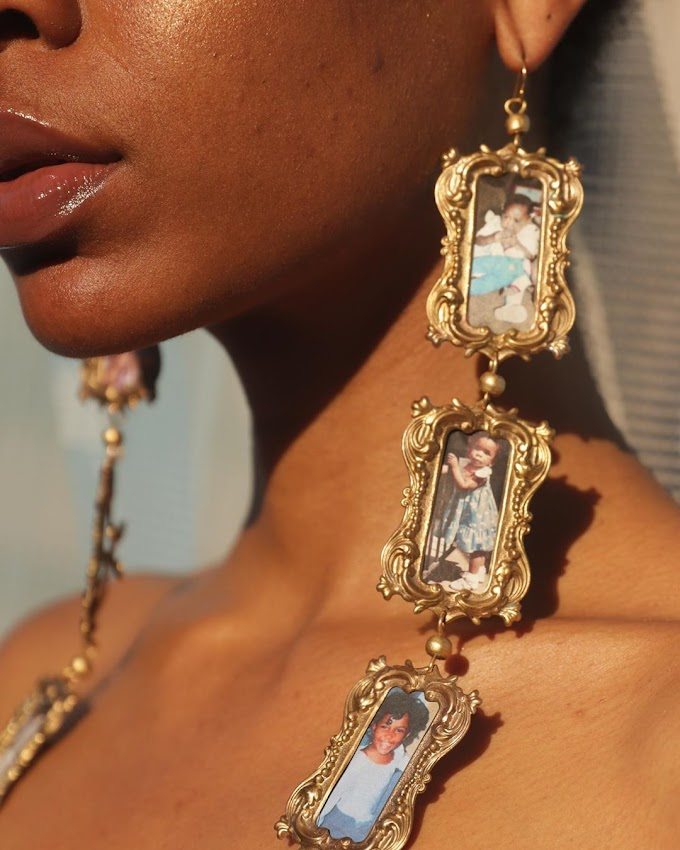 Check Out These Dope Ass Earrings By BeadsByAree!