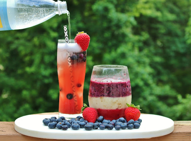 Whole30 Fourth of July Smoothie