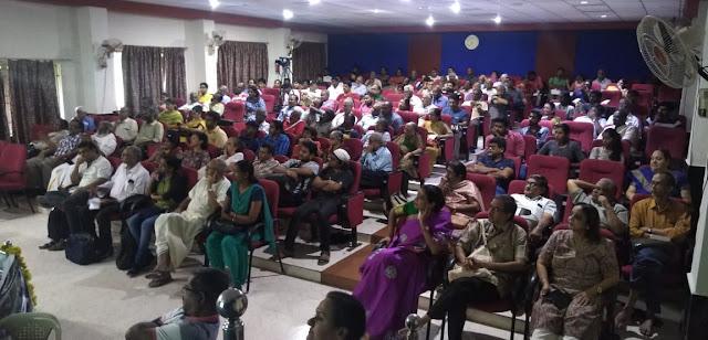Audience at Pechu kacheri on Pandyas December 2019