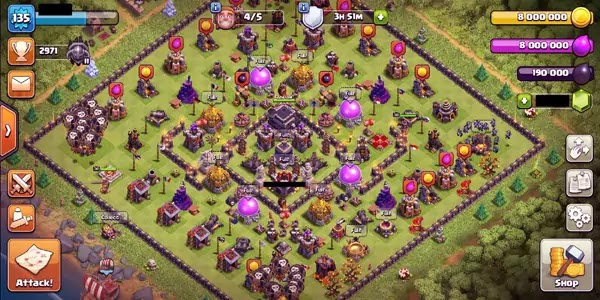 Elixir and dark elixir, very necessary for your buildings and troops
