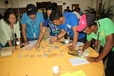 Philippine farmers learn about quality rice seed production and value of community-based seed systems at a partnership training
