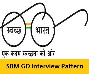 SBM GD Interview Pattern