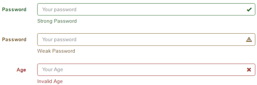 bootstrap 3 form validation icons