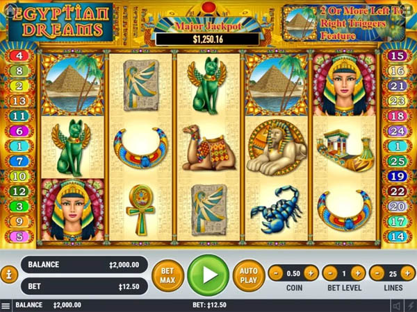Main Gratis Slot Indonesia - Egyptian Dreams Habanero