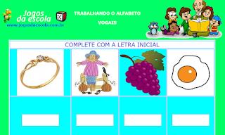 http://www.jogosdaescola.com.br/play/atividades/atividades_portugues/completar_palavras_19.html