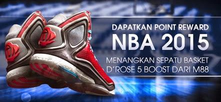 Dapatkan Poin Reward NBA 2015 Khusus di Indonesia