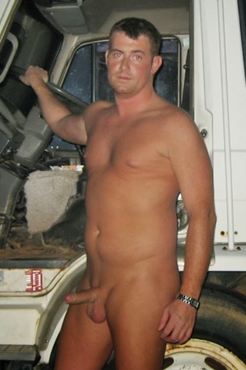 Blue collar men naked right! So