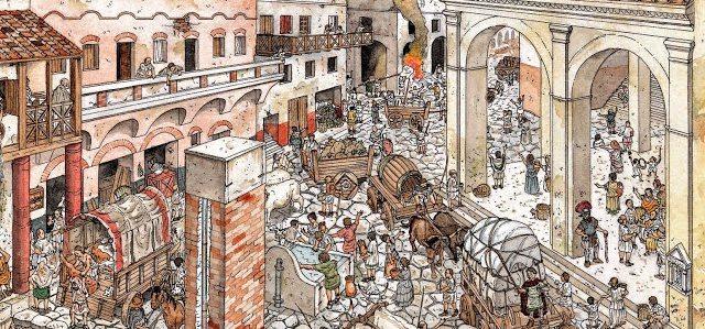 Esclavitud en Derecho romano y ciudad romana