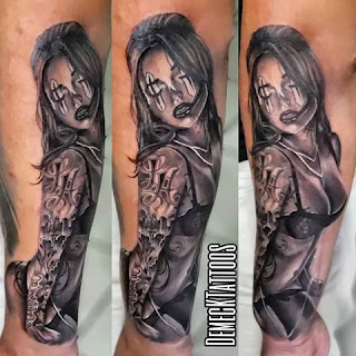 Tatuajes de mujeres de Demeck Tattoos