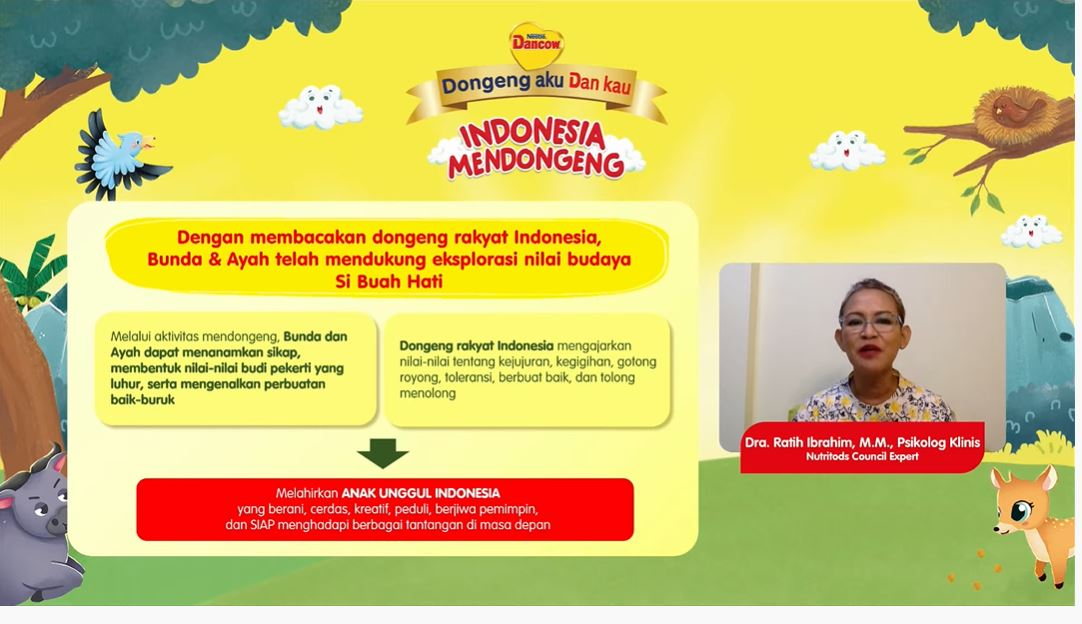 Indonesia Mendongeng DANCOW 2021