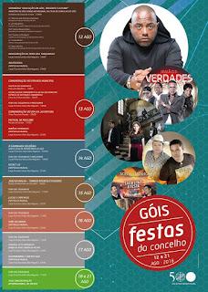 Programa Festas do concelho de Góis 2016