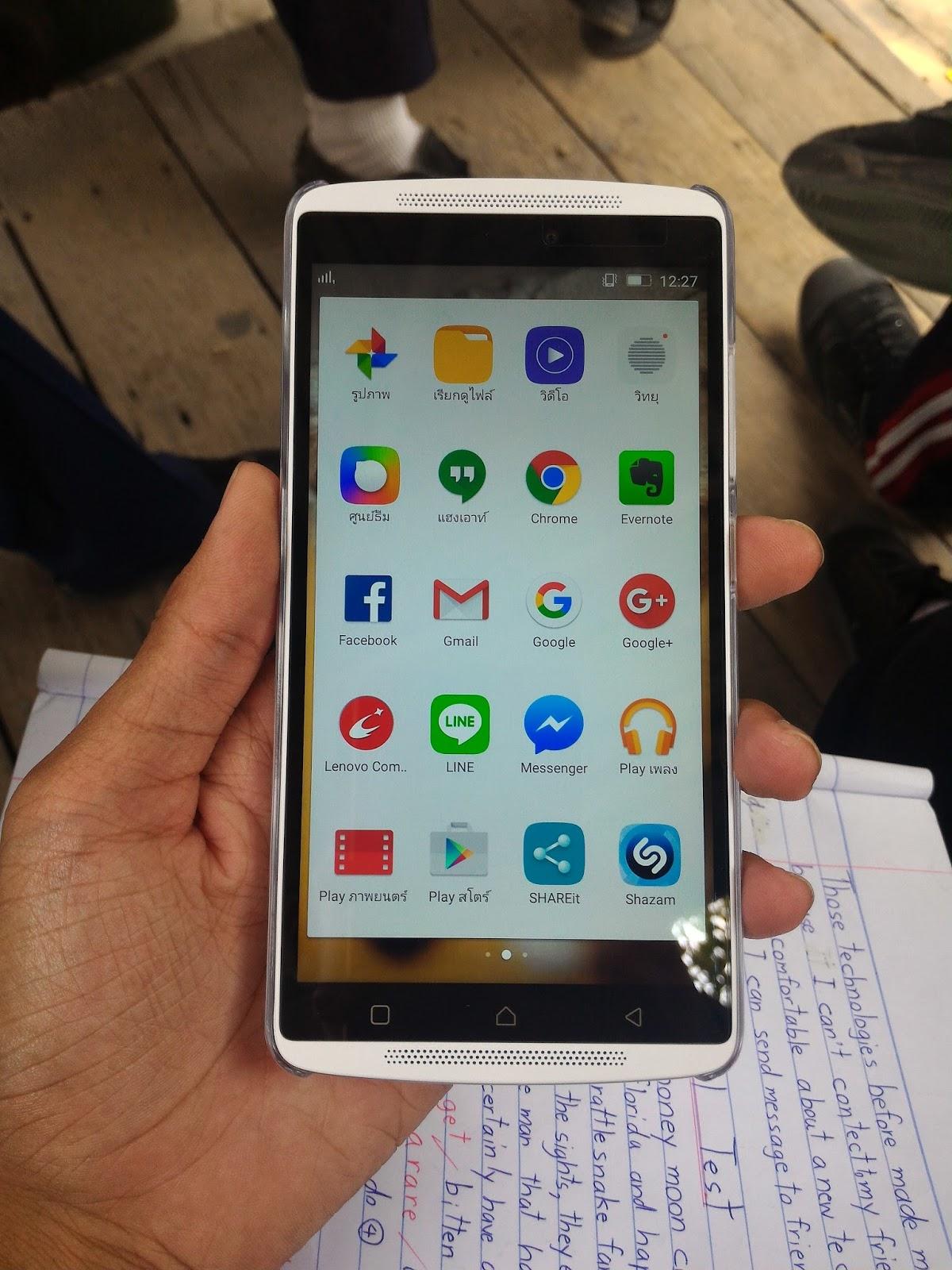 Lenovo K4 Note ภรือ Vibe K4 Note สมาร์ทโฟนรุ่นล่าสุดที่เพิ่งนำมาขายที่ไทยพร้อมกับ Lenovo Vibe X3 ในงาน Thailand Mobile Expo 2016 สานต่อความสำเร็จจาก Lenovo