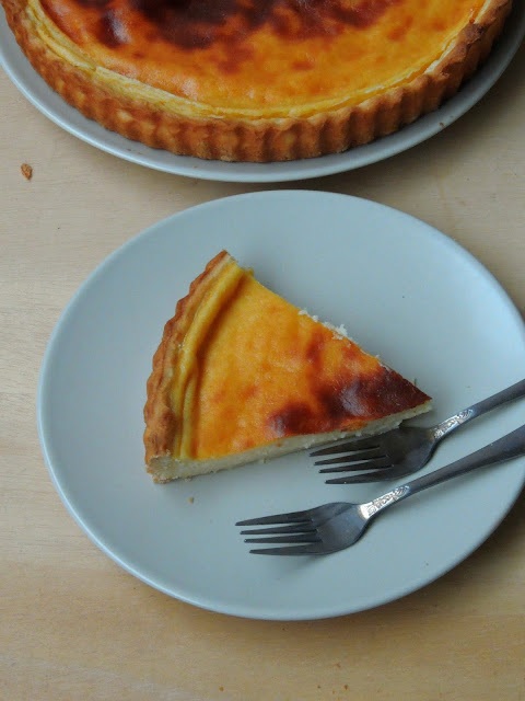 Custard Pie, Tarte au flan