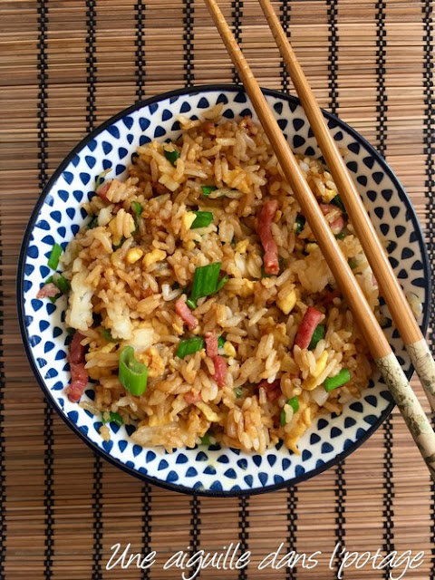 Riz frit / fried rice