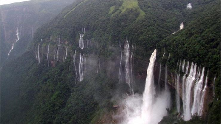 Топ самых высоких водопадов мира