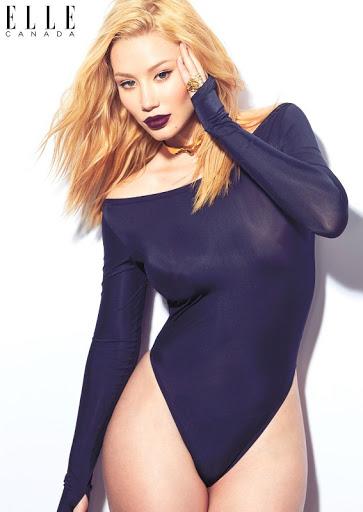 iggy azalea sexy models photo shoot for elle magazine canada