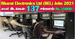 BEL Recruitment 2020 137 Trainee Engineer Posts