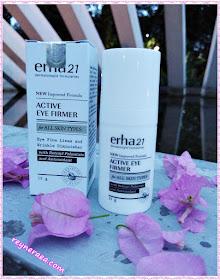 review erha21 active eye cream
