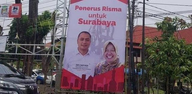 Ngotot Persoalkan APK Eri Cahyadi, Kuasa Hukum: Mahfud-Mujiaman Lupa Kalau Risma Adalah Pengurus DPP PDIP