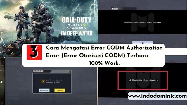 Cara Mengatasi Error Authorization Call Of Duty Mobile