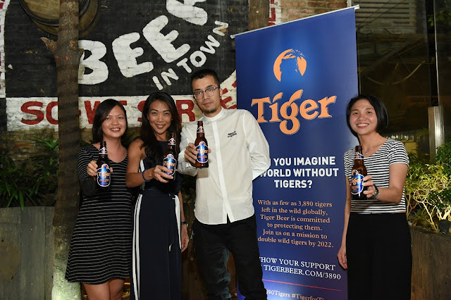 3890tigers campaign press launch tiger beer malaysia