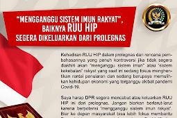 """Hj Fahira Idris: """"Mengganggu Sistem Imun Rakyat"""",  Baiknya RUU HIP Segera Dikeluarkan dari Prolegnas"""