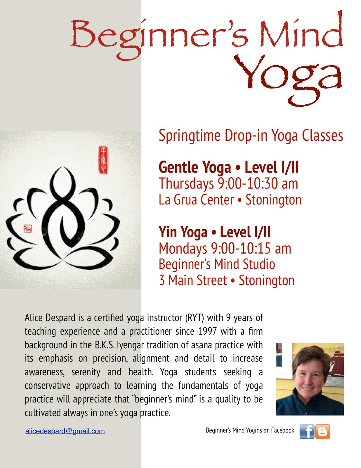 Beginners Mind Yoga