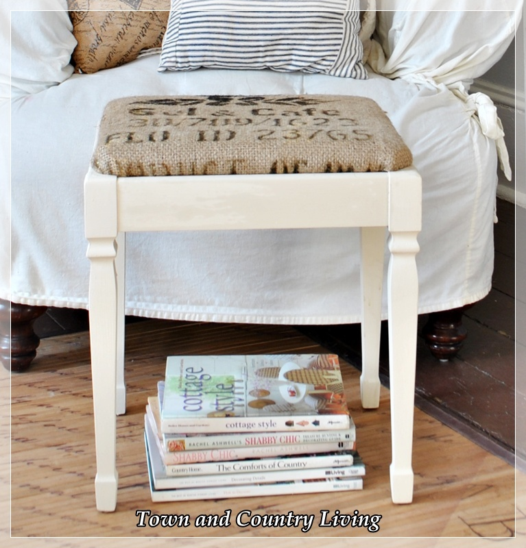 Comfy Chair and a Footstool - Town & Country Living