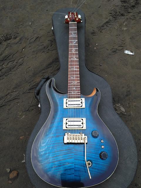 gitar custom unik