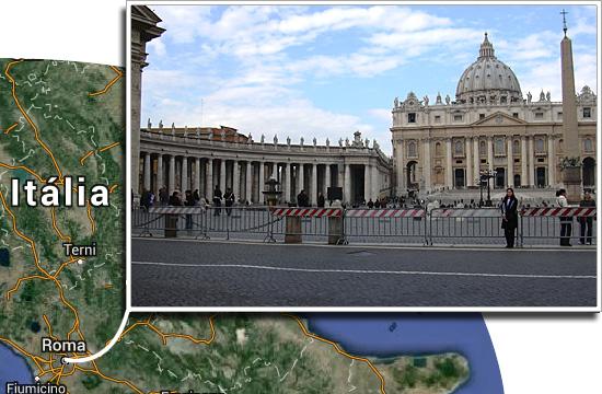 Fronteiras pelo mundo - Itália e Vaticano