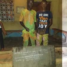 This Two Young guys was caught with a human skull in Ogun State