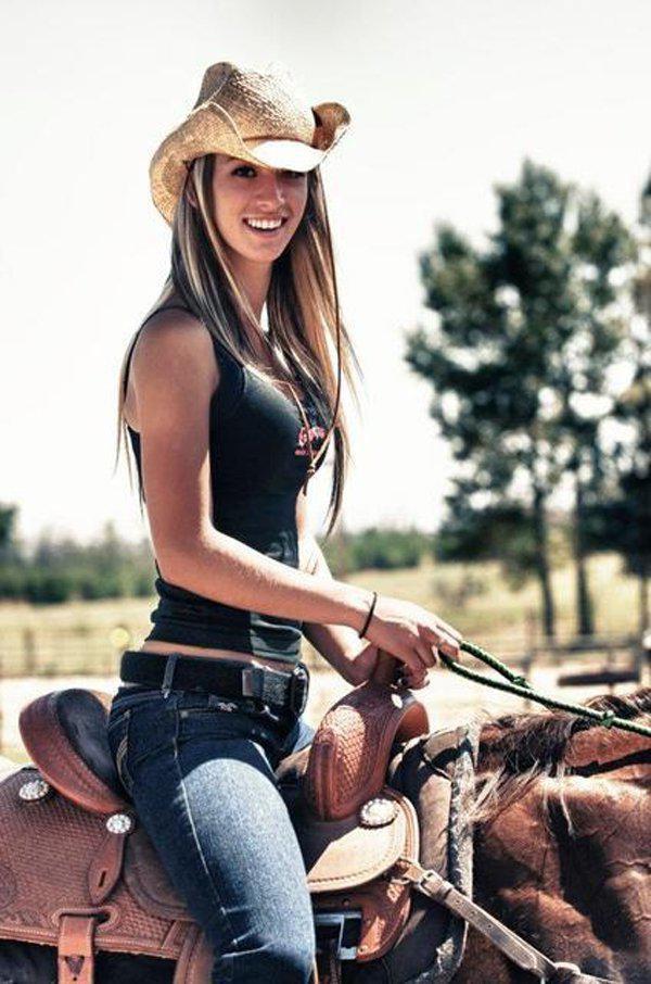 Hot Sexy Girls Women Horse Riding