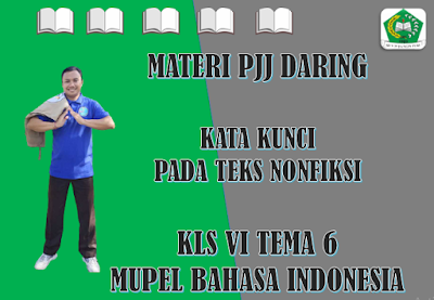 Materi Bahasa Indonesia Kelas VI Tema 6 Subtema 1 - Kata Kunci Pada Teks Nonfiksi