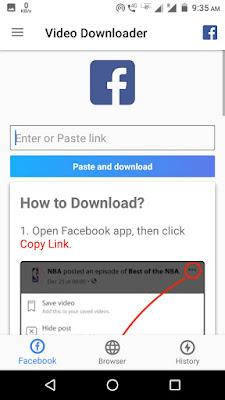 FB Video Downloader Application