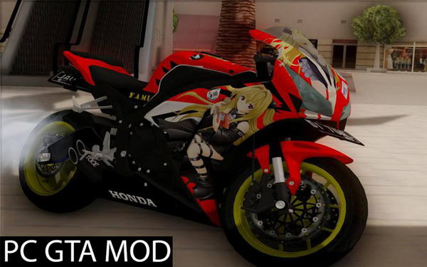 ree Download  Honda CBR1000RR Yami To Love-Ru Itansha  Mod for GTA San Andreas.