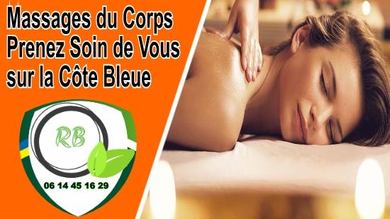 Massages du Corps; Prenez Soin de Vous sur la Côte Bleue;